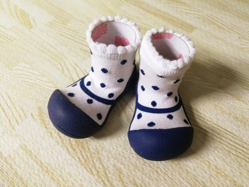 写真:Baby feet Formal NAVY ルームシューズ