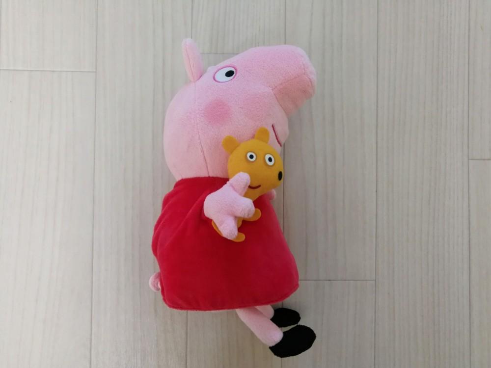 写真:Peppa Pig ペッパピッグ なかよしフレンズ ぬいぐるみ ペッパピッグ