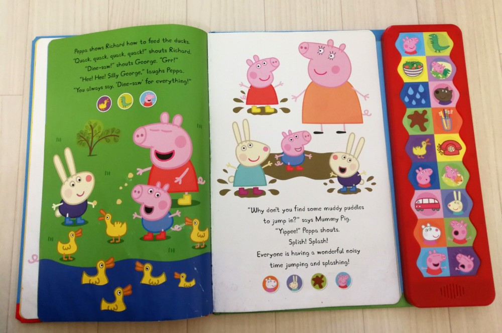 写真:Peppa Pig ペッパピッグ Peppa's Super Noisy Sound Book