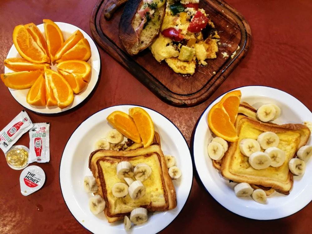 写真:「PICA fujiyama」プライベートグリルプラン 朝食