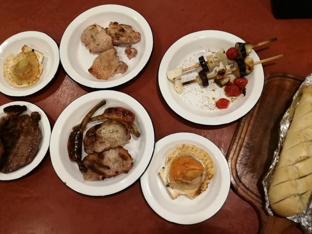写真:「PICA fujiyama」プライベートグリルプラン 夕食2日目