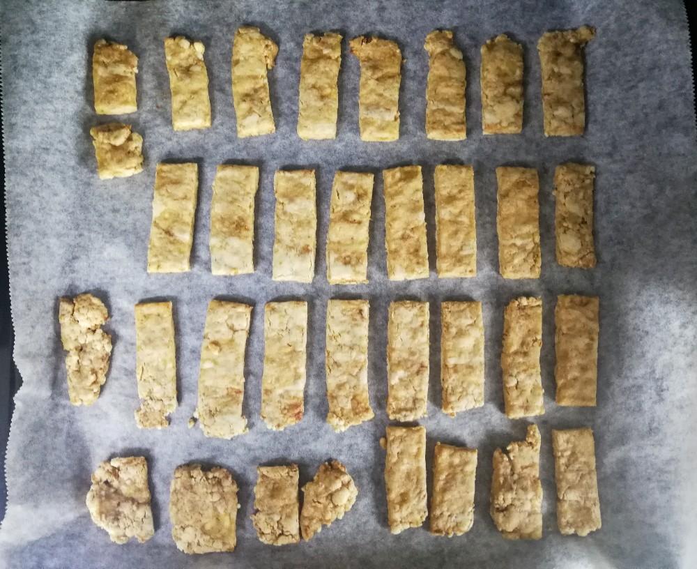 写真:バナナきな粉クッキー 焼き上がり