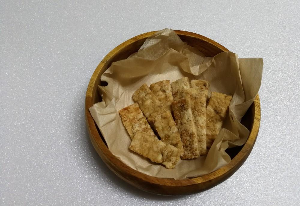 写真:バナナきな粉クッキー 完成