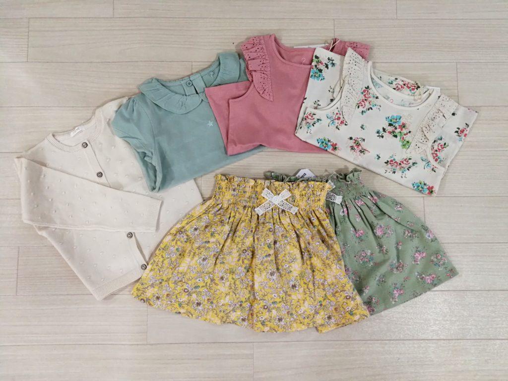 写真:nextで購入した洋服