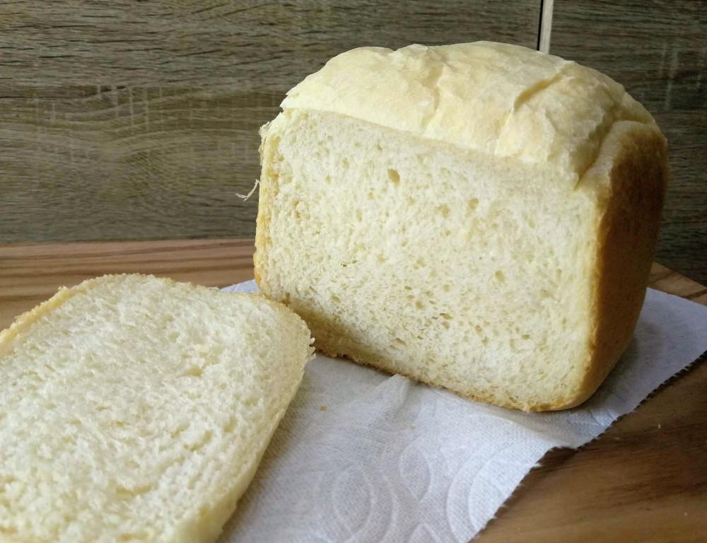 写真:砂糖なし・HBでふわふわ食パン